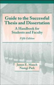 marcel-dekkerguide-to-the-successful-thesis-and-dissertation-a-handbook-for-students-and-faculty-5th-edition20031