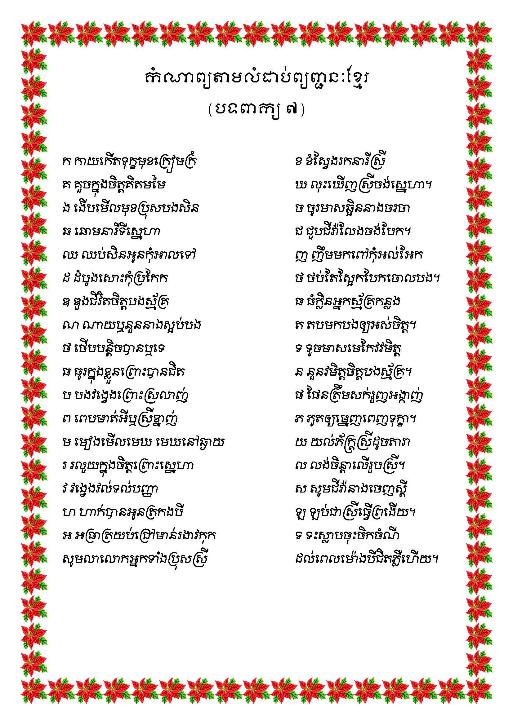 Country Profile of Cambodia